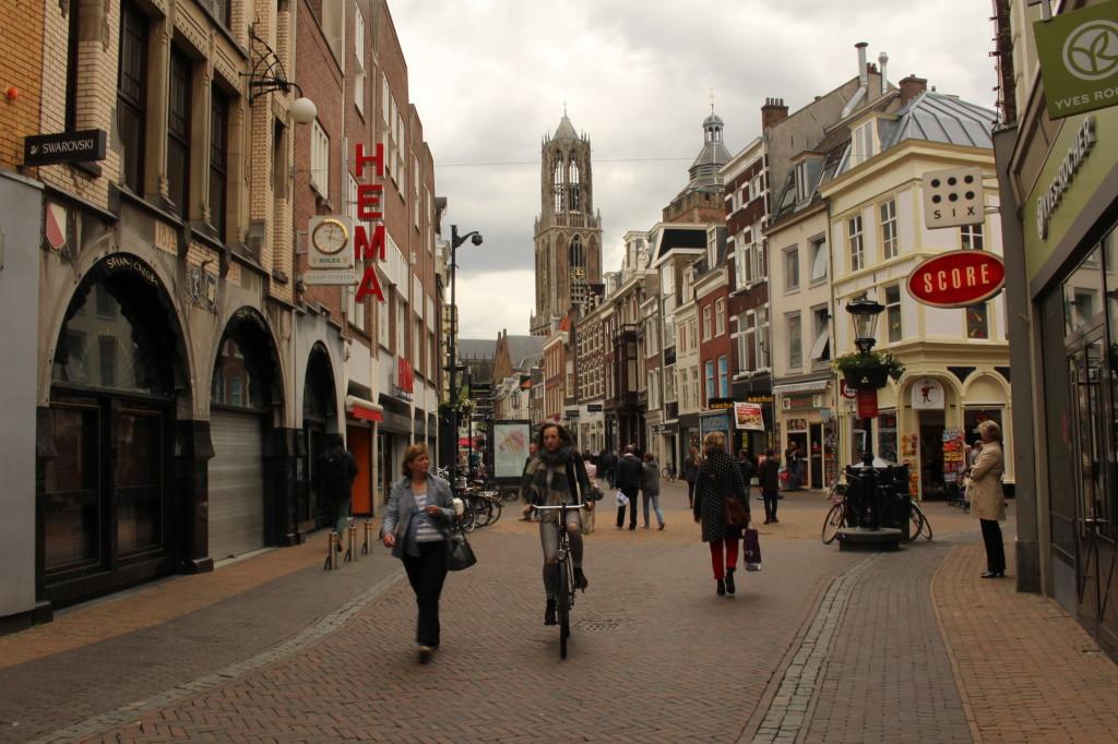 Dominanta Utrechtu a nejvyšší kostelní věž v Nizozemí – Dom Tower.