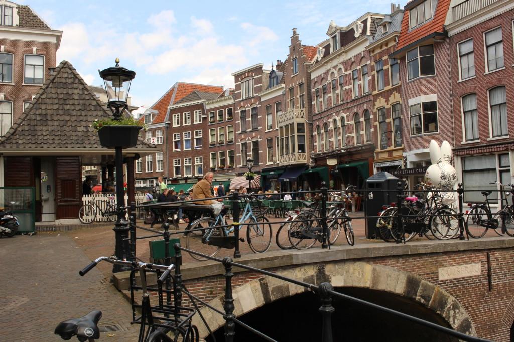 Procházka po centru Utrechtu.